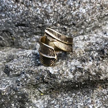 Ring veer goldplated Missnewguide